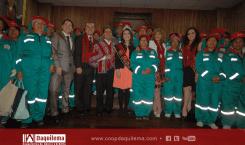 Daquilema Ltda. entrega uniforme a 100 recicladores de Riobamba.