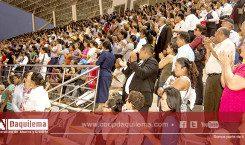 Más de 12 mil personas   claman por la paz y la unidad de la Nación en el Guayas.