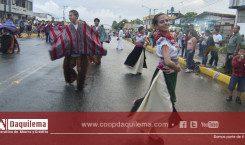 Pregón de fiestas por los  XLVIII Aniversario de cantonización de Santo Domingo