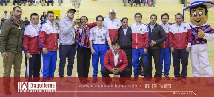 Campeonato Interinstitucional Alausí 2017