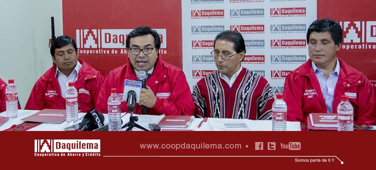 CONVOCATORIA A ELECCIONES 2017