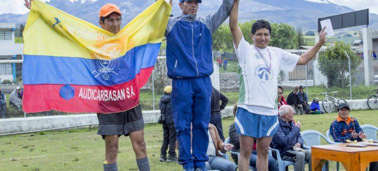 """Daquilema  presente en la XIII edición de  """"La Carrera de Chimborazo, la Más Alta del Mundo"""""""