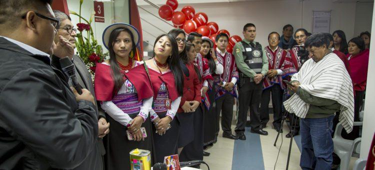 Dedicación a  Dios de las nuevas instalaciones,  y ungimiento por parte de Autoridades Eclesiásticas en la  Agencia Latacunga