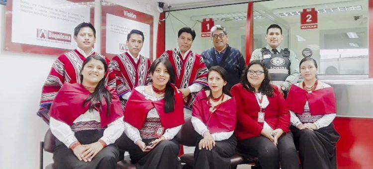 Inauguración de la nuevas oficinas en Latacunga