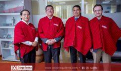 Visita de los funcionarios de la Caja Central FINANCOOP