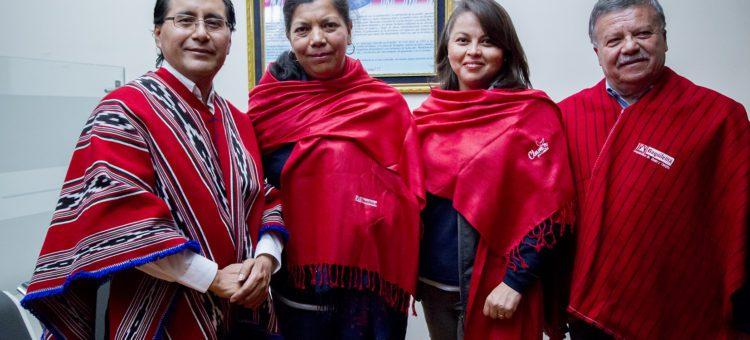 """Representantes de la Cooperativa """"Unión El Ejido"""" visitan la Cooperativa Daquilema"""