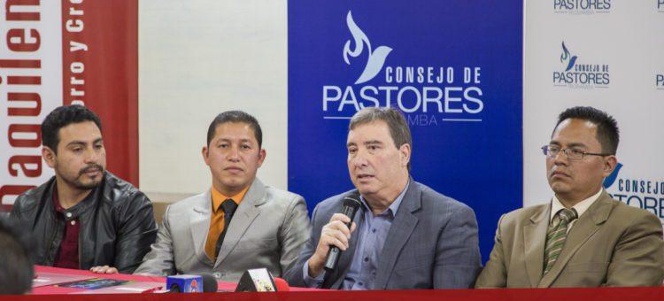 "Rueda de prensa- Campaña Evangelística ""Tu milagro espera"""