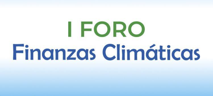 I Foro Nacional de Finanzas Climáticas en Riobamba.